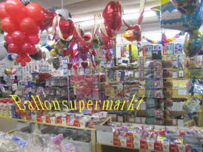 Luftballons im Shop